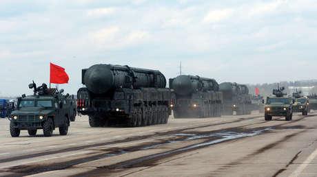 Sistemas de misiles nucleares móviles Yars.