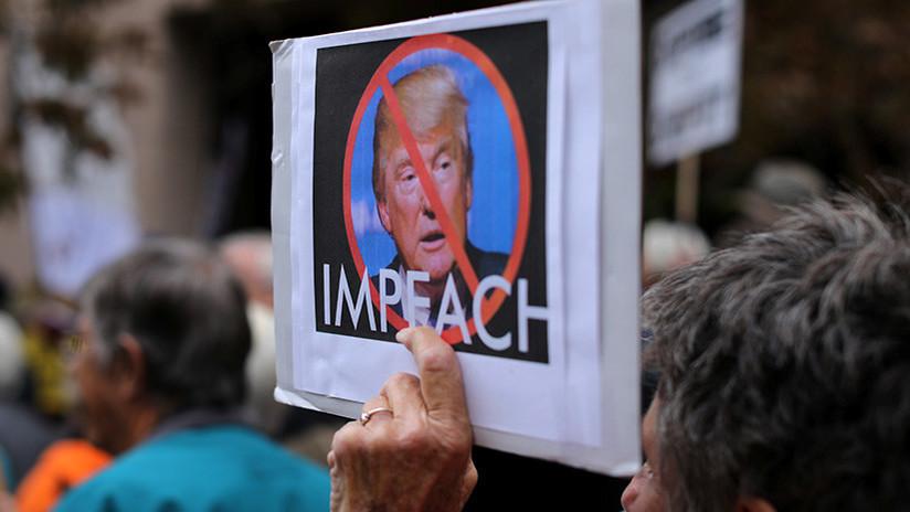 La propuesta de destituir a Trump cuenta con un millón de apoyos