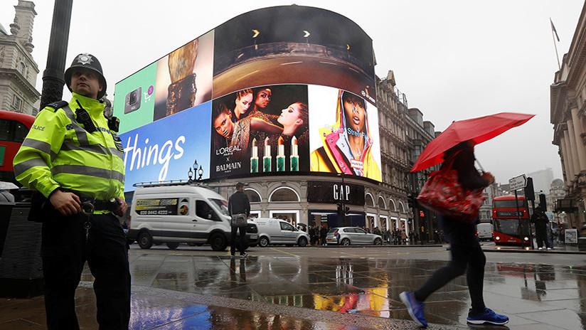 La nueva pantalla del centro de Londres reconocerá su rostro, su automóvil y su estado de ánimo