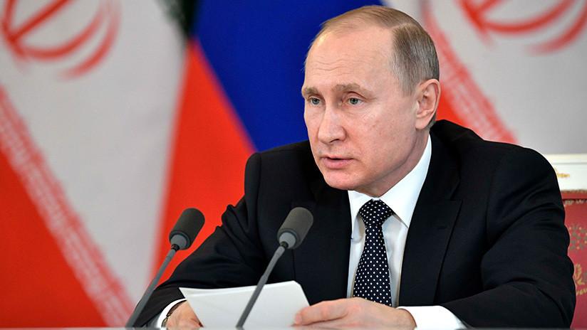 Putin llega a Teherán para una cumbre trilateral con sus homólogos de Irán y Azerbaiyán
