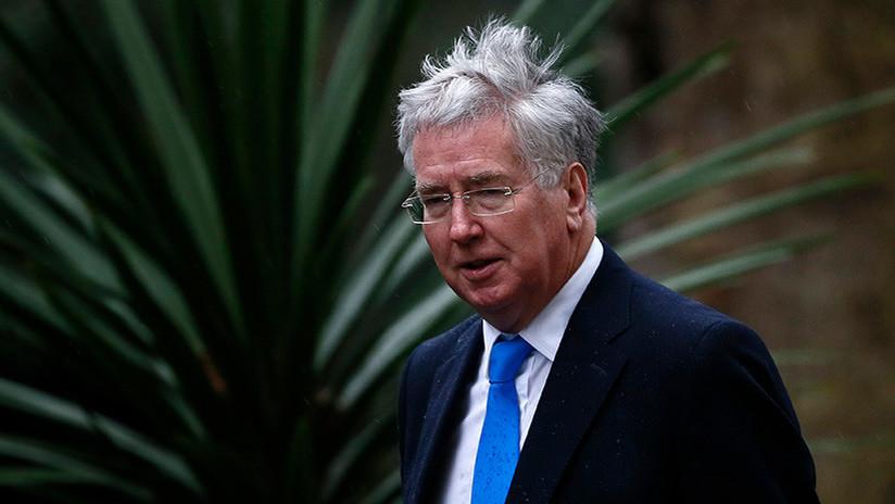 El secretario de Defensa de Reino Unido dimite por una antigua polémica de acoso