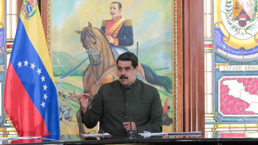 """Maduro acusa a Santos de dirigir las """"mafias"""" contra la economía venezolana"""