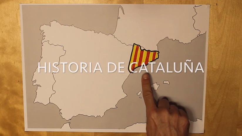 La historia de Cataluña explicada en 10 minutos 'con lápiz y papel'