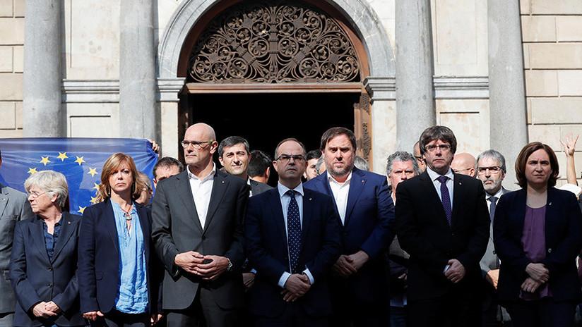 España: Prisión incondicional para el exvicepresidente y otros 7 miembros del Gobierno catalán