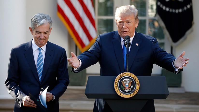 Trump designa al nuevo presidente de la Reserva Federal de EE.UU.