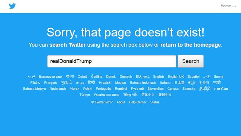 """""""Los mejores 70 segundos de este año"""": La cuenta de Twitter de Trump ha sido suspendida"""