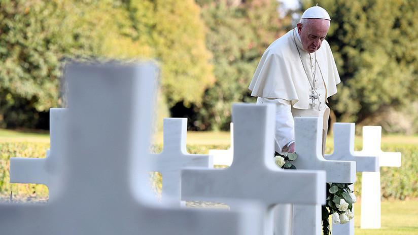 """Papa Francisco: """"El mundo está en guerra y se dirige a un conflicto aún mayor"""""""