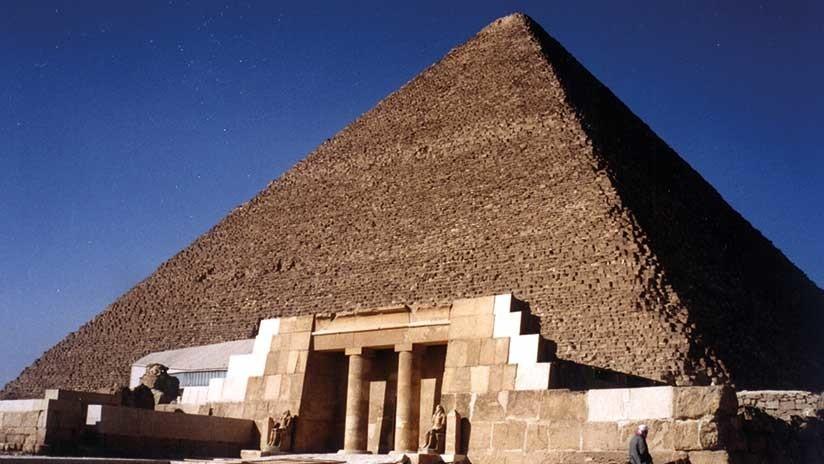 Abren por primera vez al público una tumba maldita cerca de la Gran Pirámide de Guiza