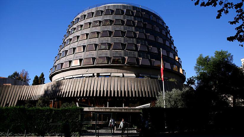 El Constitucional de España inadmite el recurso contra la supresión de la autonomía catalana