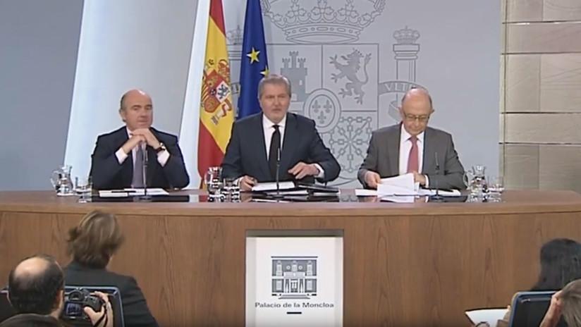 """Portavoz del Gobierno de España: """"Esperamos que termine el deterioro de la convivencia"""" en Cataluña"""