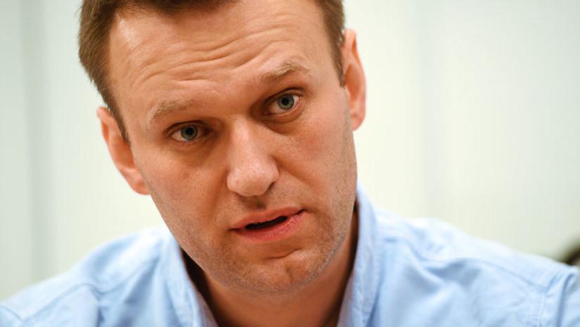 """El opositor ruso Navalny demanda a Putin por sus """"acciones ilegales y su inacción"""""""