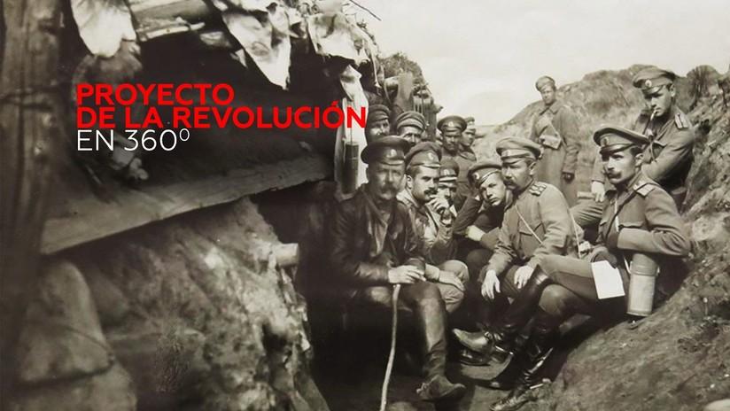 La Revolución en 360º: Las trincheras de la Primera Guerra Mundial