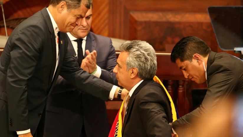 ¿Expulsarán al presidente de Ecuador de su propio partido?