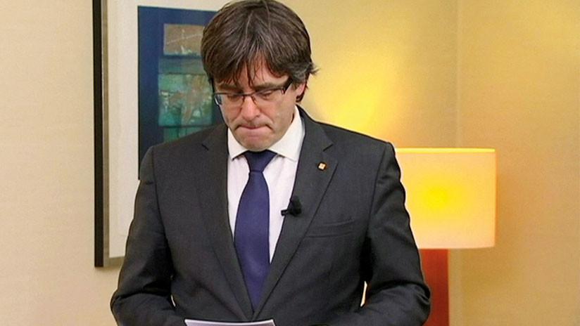 """Puigdemont: """"Estoy dispuesto a ser candidato incluso desde el extranjero"""""""