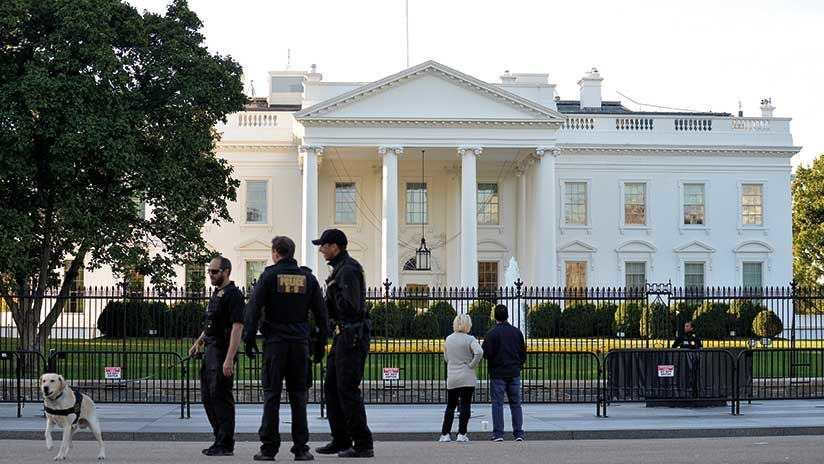 Precintan la casa blanca debido a una actividad - Fotos de la casa blanca por fuera ...
