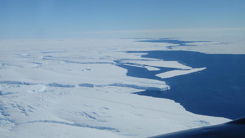 El deshielo de un gigantesco glaciar en la Antártida podría aumentar el nivel del mar en tres metros