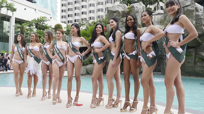FOTOS: Una representante de Filipinas se corona como Miss Tierra 2017