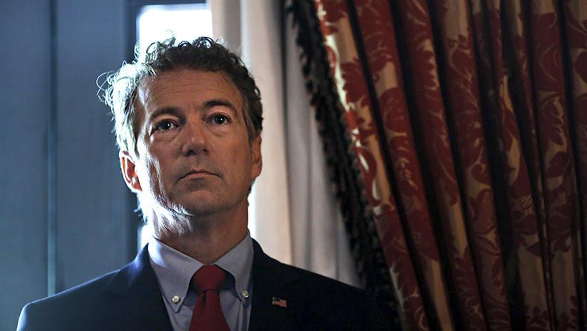 Atacan al senador estadounidense Rand Paul en su casa