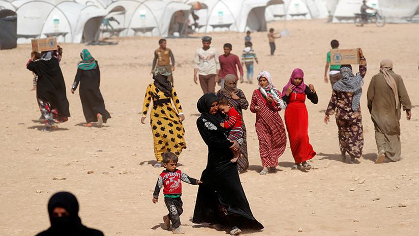 Decenas de muertos en un atentado del Estado Islámico en un campo de refugiados en Siria