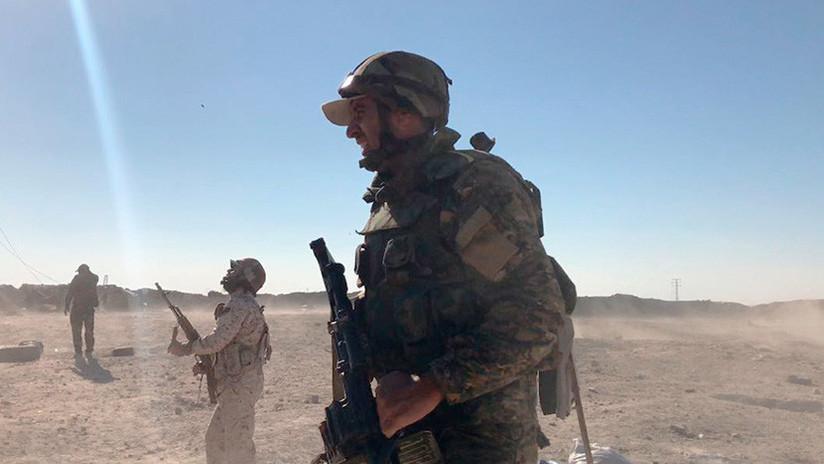 El Ejército sirio halla en Deir ez Zor un vehículo que posee sustancias químicas