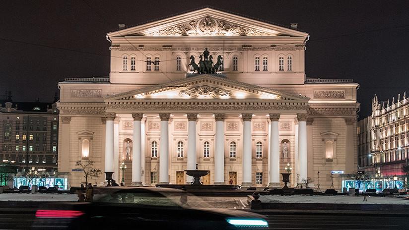 Moscú: Evacúan el Teatro Bolshói por una amenaza de bomba