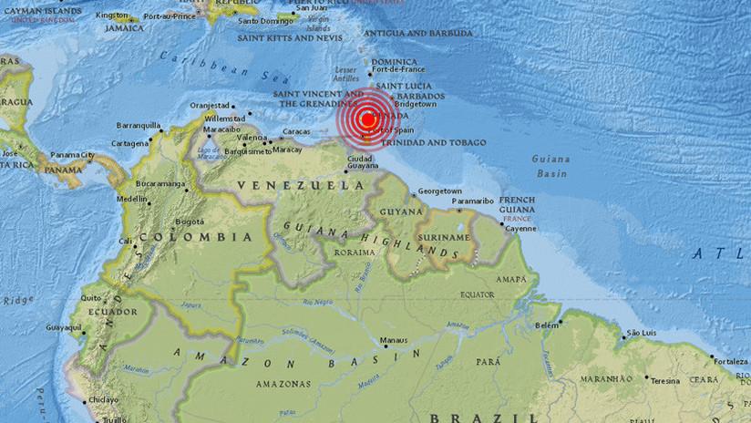 Se registra un sismo de magnitud 5,5 en el Caribe