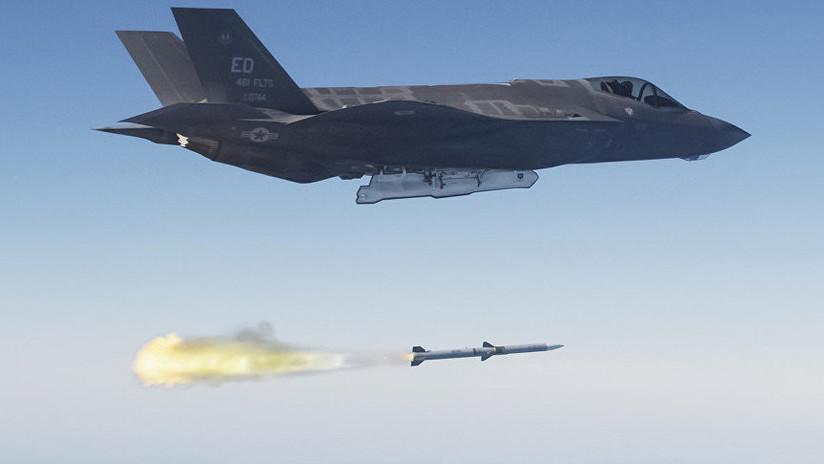 ¿Para qué desarrolla en secreto EE.UU. un misil aire-aire?