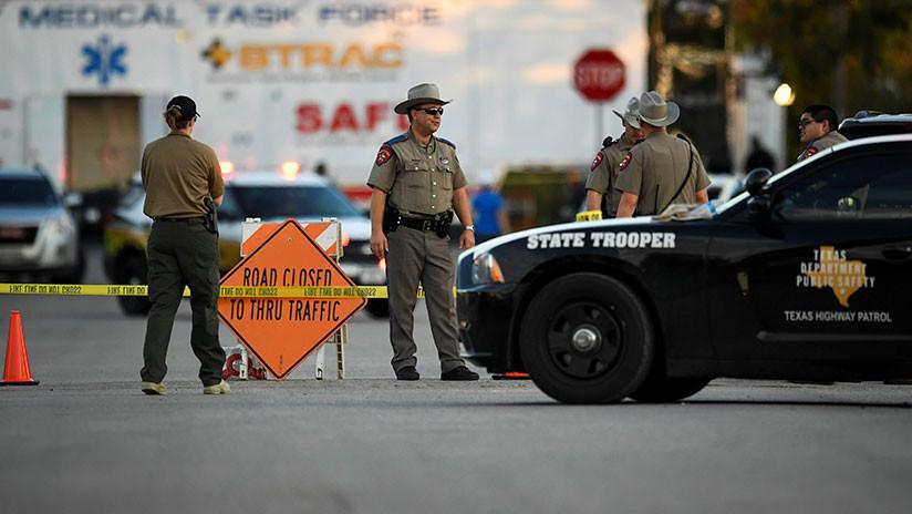 El asesino de la iglesia de Texas compró cuatro armas de fuego sin permiso