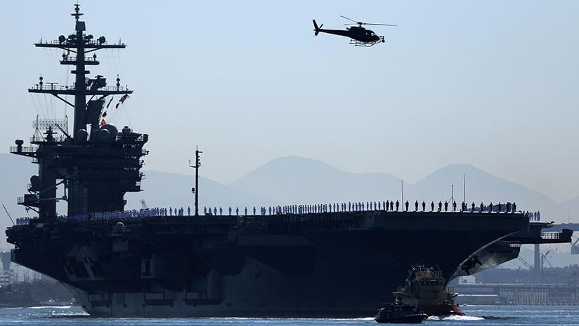 Tres portaviones de EE.UU. cumplirán ejercicios en el Pacífico mientras Trump visita Asia