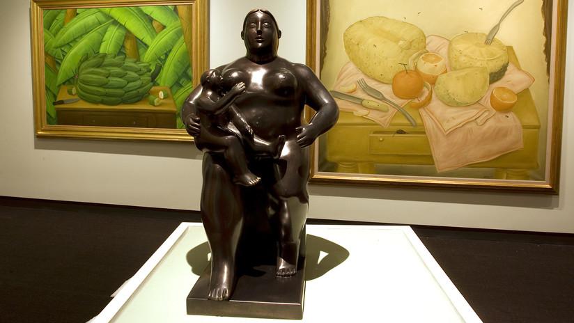 Roban una escultura de medio millón de dólares en plena exposición y nadie lo nota