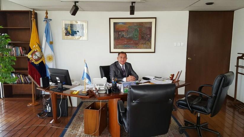 Cancillería ecuatoriana pide retiro de embajador de Argentina Luis Juez