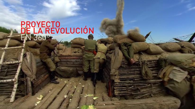 La Revolución en 360°: Conviértase en el protagonista principal del evento que cambió la historia