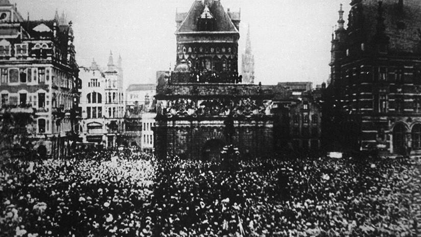 Recorra con nosotros los lugares emblemáticos donde se desató la Revolución de Octubre