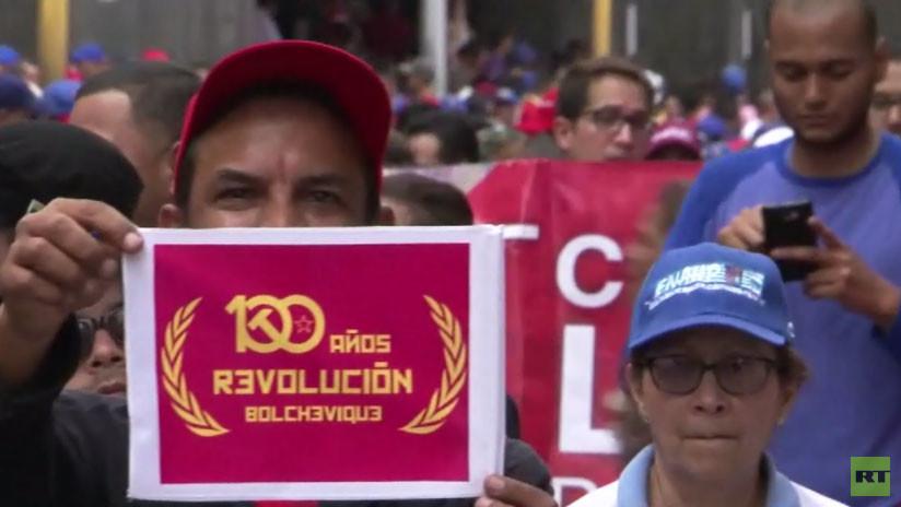 Así celebra América Latina los 100 años de la Revolución rusa