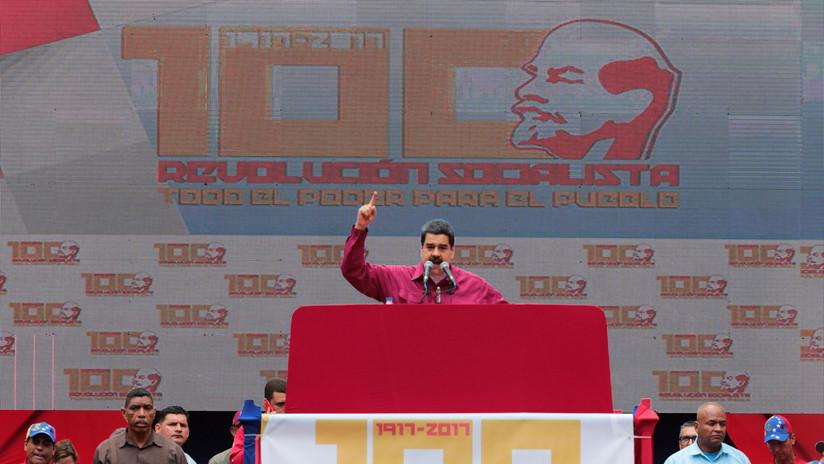"""Maduro afirma que España teme una """"revolución de los pueblos oprimidos"""""""
