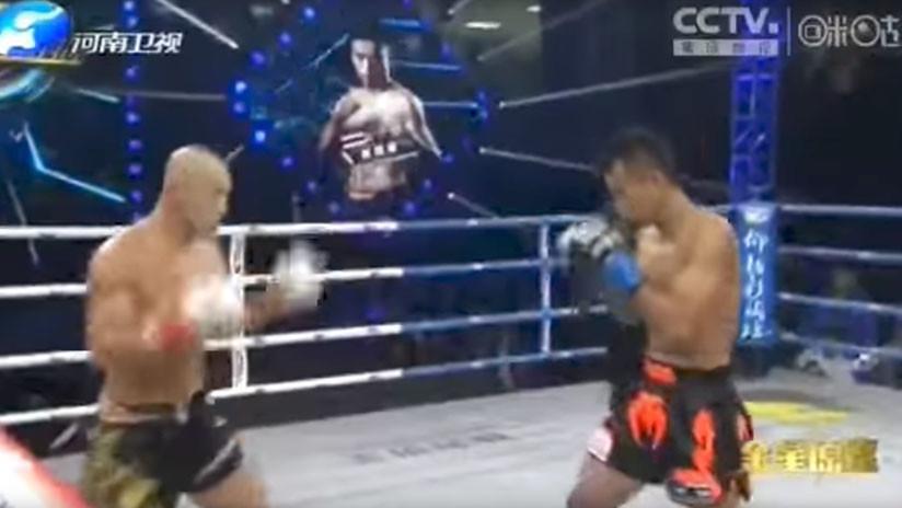 """Paliza de 7 minutos: Boxeador tailandés deja en evidencia a un """"falso"""" monje Shaolin (VIDEO)"""