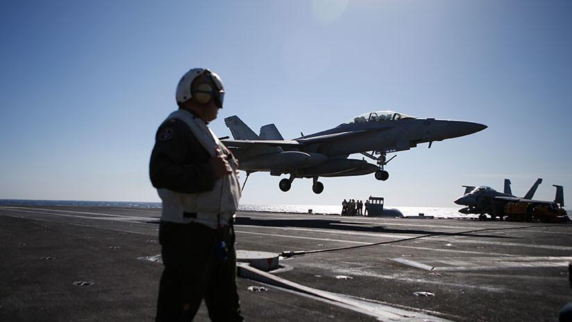 """""""Una rara oportunidad"""": EE.UU. confirma ejercicios navales en el Pacífico con 3 portaviones"""