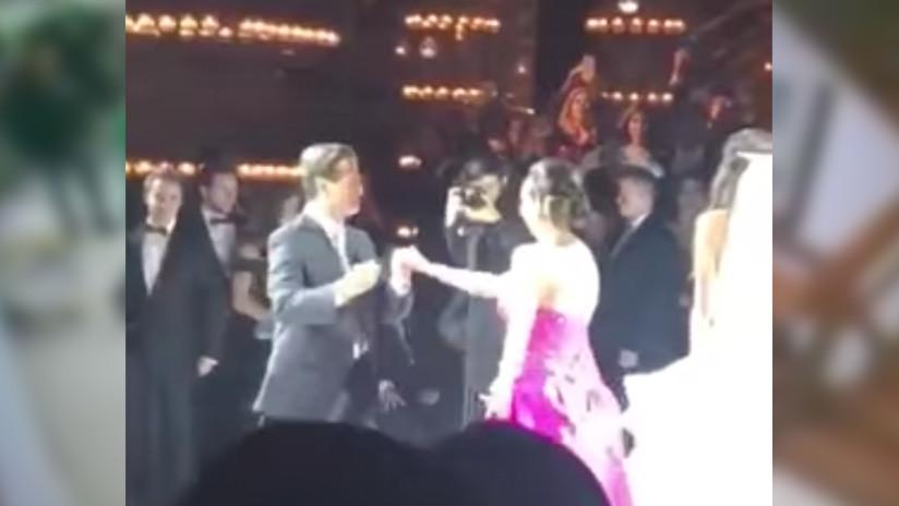 El baile viral del presidente Peña Nieto que paralizó las redes (VIDEO)