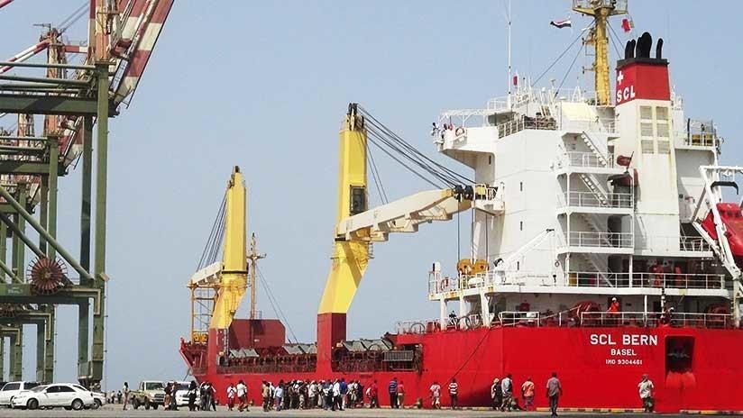 Arabia Saudita pone fin al bloqueo del puerto yemení de Adén