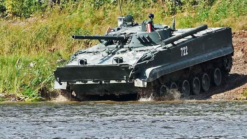 Así será el nuevo vehículo blindado de reconocimiento ruso