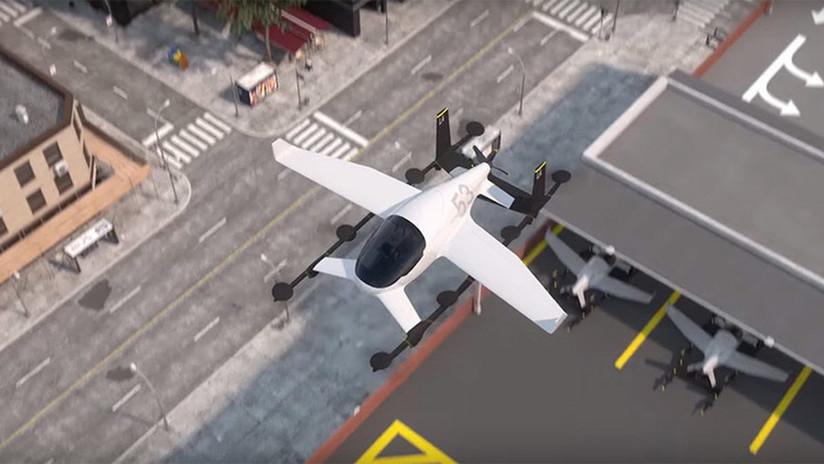 Uber y la NASA se asocian en el desarrollo de un taxi volador (VIDEO)