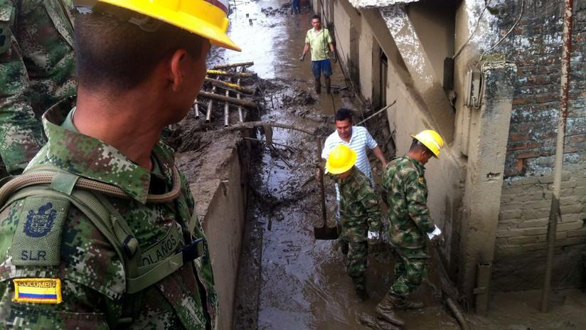 Se desploma un edificio de 6 plantas en Colombia (VIDEO)