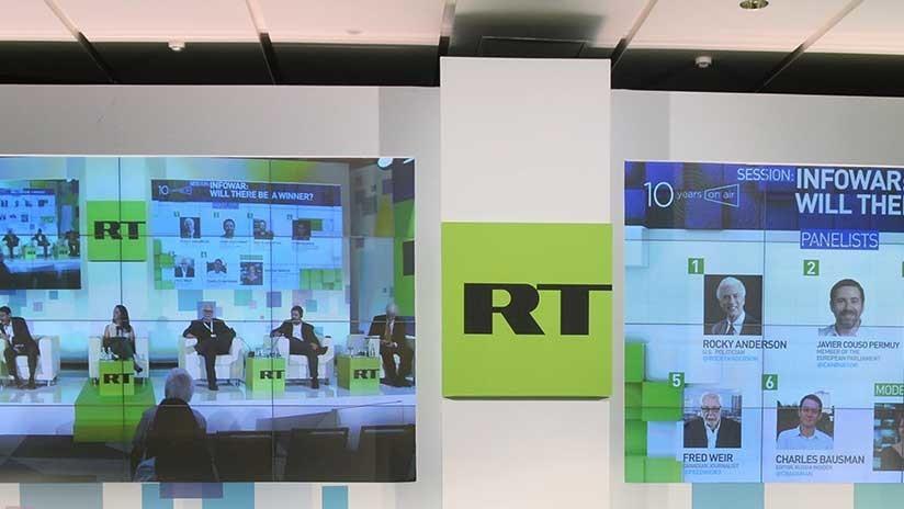 Washington ordena a RT America registrarse como agente extranjero antes del lunes