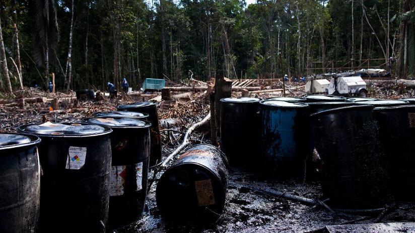 Perú: Sexto derrame de crudo en la región amazónica de Loreto