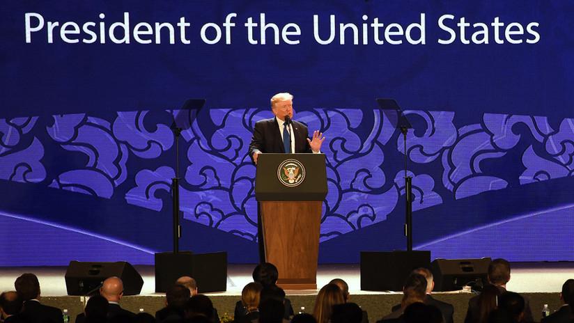 """Trump declara que el desequilibrio comercial entre China y EE.UU. es """"inaceptable"""" para Washington"""