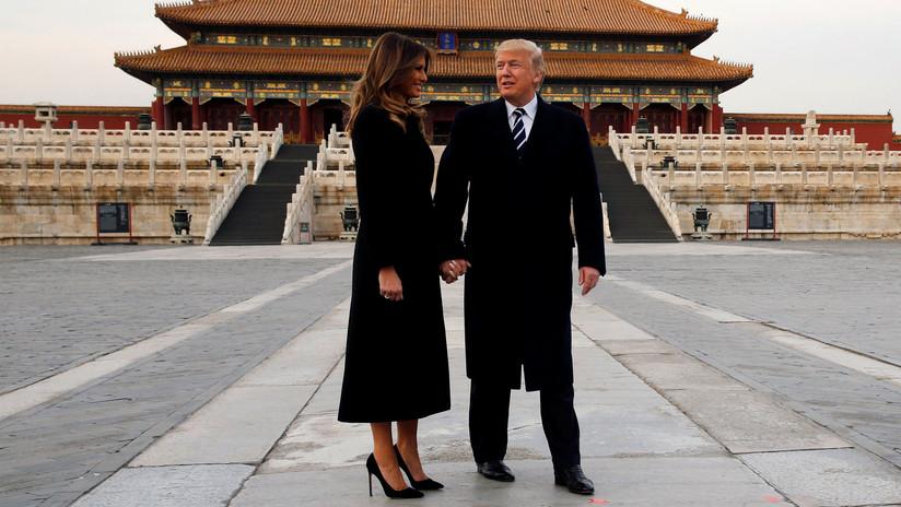 Así violó la ley Trump mientras estaba en China