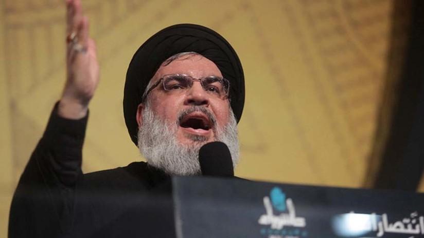 """El líder de Hezbolá asegura que Arabia Saudita """"ha declarado la guerra"""" a Líbano"""