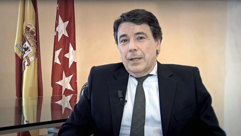 Incautan al expresidente de la Comunidad de Madrid 5,4 millones de dólares en Colombia