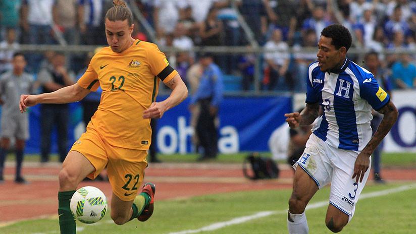 Honduras y Australia empatan en su primer juego de repechaje al Mundial