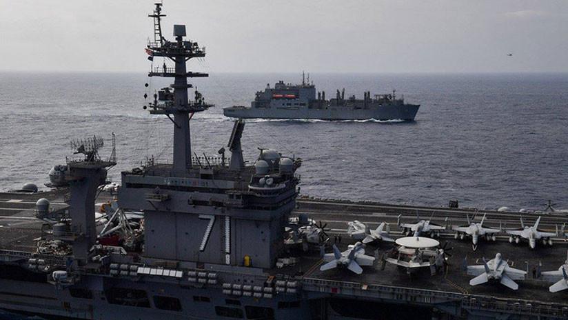 """Pionyang acusa a Trump de """"rogar"""" por una guerra nuclear mientras 3 portaviones bordean la península"""
